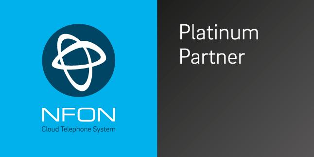 NFON platinum partner logo